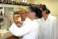 práce v laboratoři